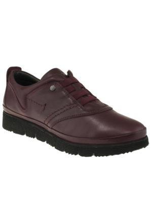Greyder 55726 Zn Trendy Bordo Kadın Ayakkabı
