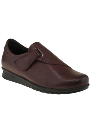 Greyder 55452 Zn Casual Bordo Kadın Ayakkabı