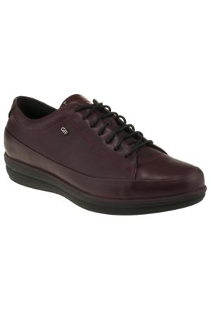 Greyder 55510 Zn Casual Bordo Kadın Ayakkabı