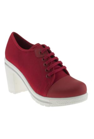 Greyder 7752 Zn Urban Casual Kırmızı Kadın Ayakkabı