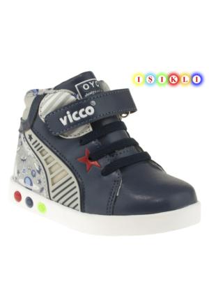 Vicco 313Y373 Tek Cirt Isikli Lacivert Çocuk Spor Ayakkabı