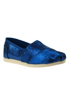 Fiorella Twigy Espadril Mavi Kadın Ayakkabı