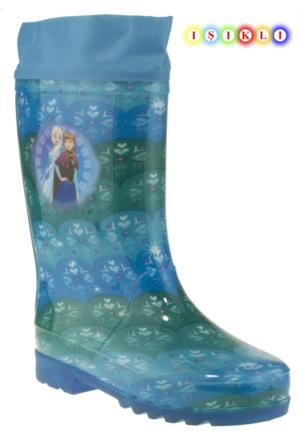 Frozen Gizy Yağmur Mavi Çocuk Çizme