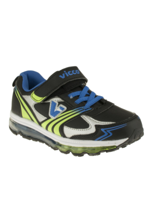 Vicco 347T084 Tek Cirt Siyah Çocuk Spor Ayakkabı