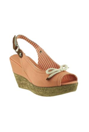 Pierre Cardin Slingbac Turuncu Kadın Sandalet