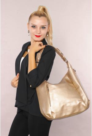 Avb Accessories Altın Kadın El Çantası-8104