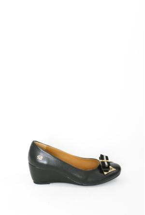 İlker Kundura Siyah Klasik Kadın Ayakkabı-310