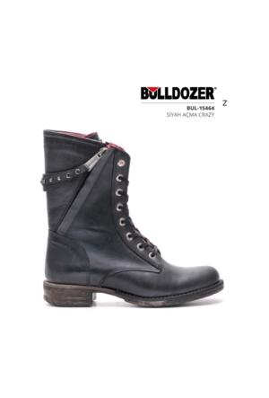 Bulldozer 15464 Kışlık Bayan Bot Siyah