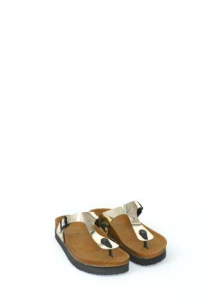 Fidan Ayakkabı Altın Parmak Arası Kadın Terlik