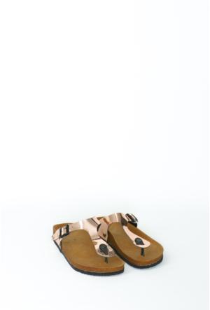 Fidan Ayakkabı Bakır Parmak Arası Kadın Terlik