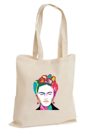 XukX Dizayn Frida Kahlo 2 Bez Çanta