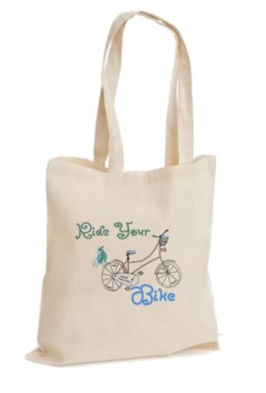 XukX Dizayn Ride Your Bike Bez Çanta