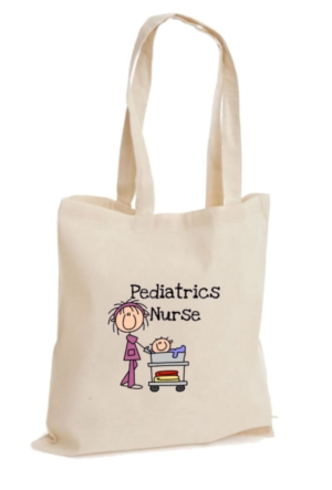 XukX Dizayn Pediatri Hemşiresi Bez Çanta