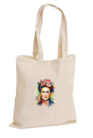 XukX Dizayn Frida Kahlo Bez Çanta