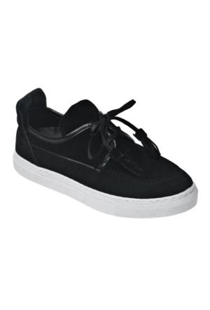 Ayakkabı - Siyah Fiyonklu - Zenneshoes