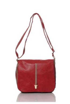 Diamond 3190 Postacı Çanta Kırmızı