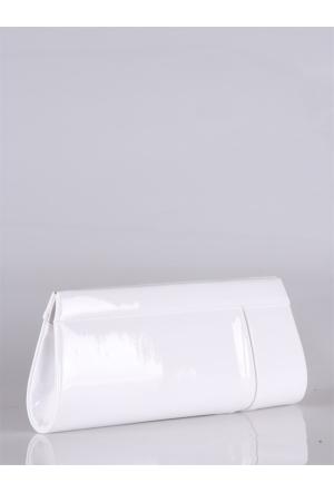 Berramore Simalore 8002-17 Rugan-Beyaz Bayan Abiye Çanta