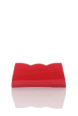 Berramore 7520-14 Kırmızı-Rugan Bayan Abiye Çanta