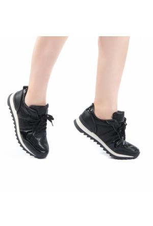 Modabuymus Kenton Siyah Sneakers Spor Kadın Ayakkabı