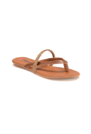 Carmens U1713 Z Altın Kadın Sandalet