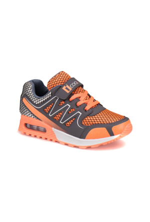 I Cool 9315005 Gri Turuncu Erkek Çocuk Sneaker