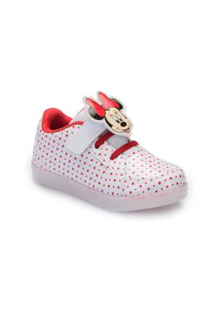 Mickey Mouse A3360977 Beyaz Kız Çocuk Sneaker
