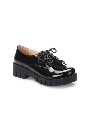 Pink Step A3360755 Siyah Kız Çocuk Ayakkabı