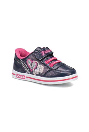 Polaris 62.508715.P Mor Kız Çocuk Ayakkabı