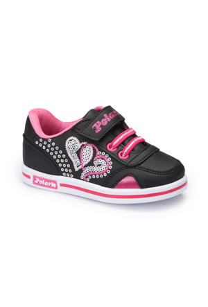 Polaris 62.507510.B Siyah Kız Çocuk Ayakkabı