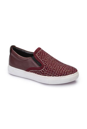 Polaris 62.508510.F Bordo Kız Çocuk Ayakkabı