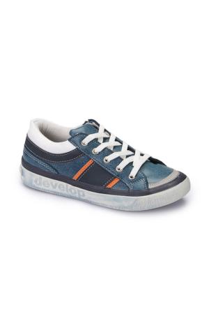 Polaris 62.506717.F Mavi Erkek Çocuk Ayakkabı
