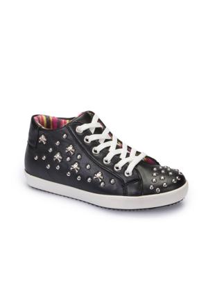 Polaris 62.505609.F Siyah Kız Çocuk Ayakkabı