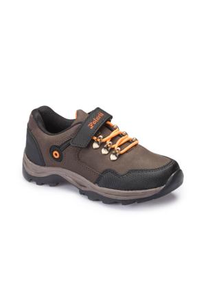 Polaris 62.507835.F Kahverengi Erkek Çocuk Ayakkabı