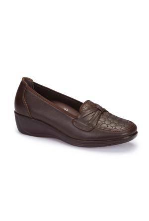 Polaris 5 Nokta 62.109002.Z Kahverengi Kadın Ayakkabı