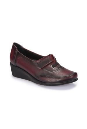 Polaris 5 Nokta 62.109103.Z Bordo Kadın Ayakkabı