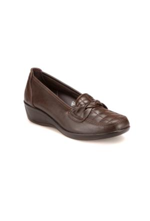 Polaris 5 Nokta 62.107527.Z Kahverengi Kadın Ayakkabı
