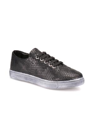 Seventeen 543-01 Siyah Kız Çocuk Sneaker