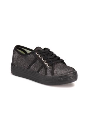 Seventeen S200 Siyah Kız Çocuk Sneaker