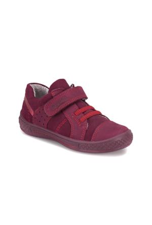Superfit 3-08102-54 P. Mor Kız Çocuk Süet Deri Ayakkabı
