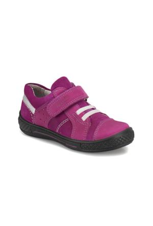 Superfit 3-08102-61 P. Lila Kız Çocuk Deri Ayakkabı