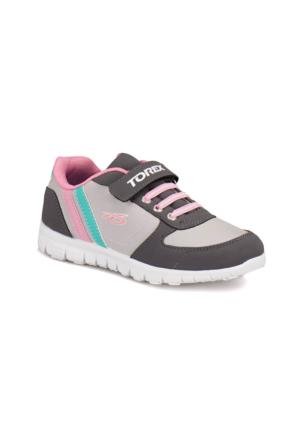 Torex 9315009 Gri Pembe Yeşil Kız Çocuk Sneaker