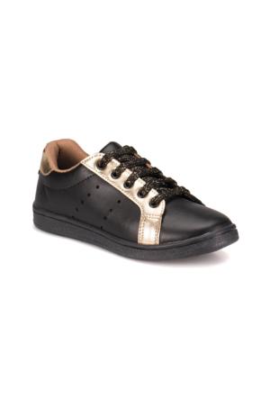 Torex 9315032 Siyah Altın Kız Çocuk Sneaker