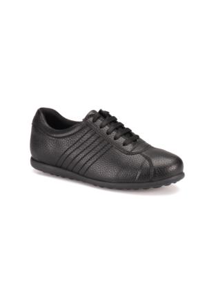 Travel Soft A7000004 Siyah Kadın Sneaker