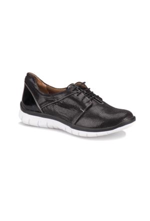 Travel Soft A7000000 Siyah Kadın Sneaker