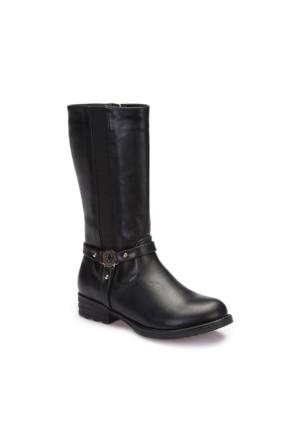 U.S. Polo Assn. A3375690 Siyah Kız Çocuk Çizme