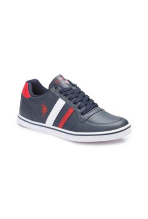 U.S. Polo Assn. A3377141 Lacivert Kadın Sneaker