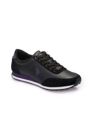 U.S. Polo Assn. A3375250 Siyah Kadın Sneaker
