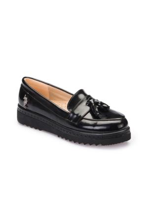 U.S. Polo Assn. A3377382 Siyah Kadın Ayakkabı