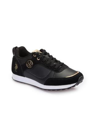 U.S. Polo Assn. A3375218 Siyah Kadın Sneaker
