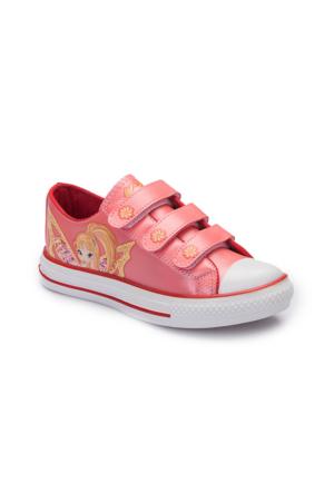 Winx A3360529 Mercan Kız Çocuk Sneaker